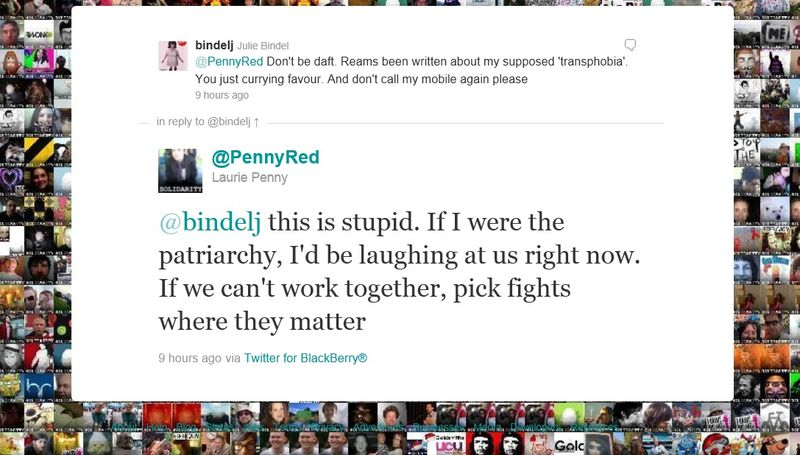 Laurie Penny and Julie Bindel
