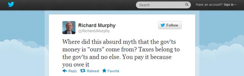Those uppity taxpayers.