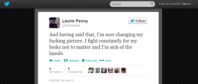 Laurie fights for her looks not to matter