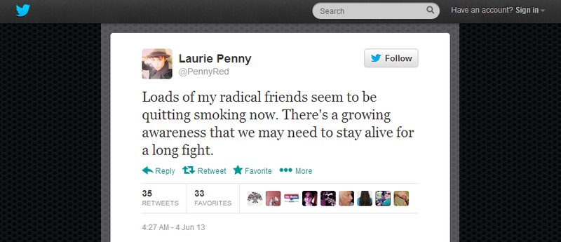 Laurie's radical friends