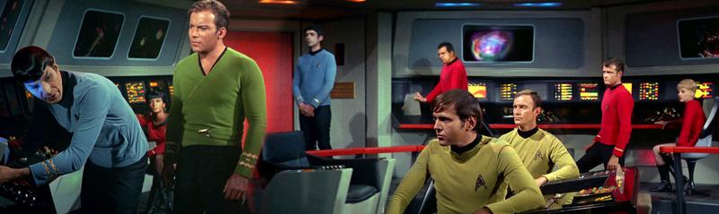 Everyone stare at the Vulcan.