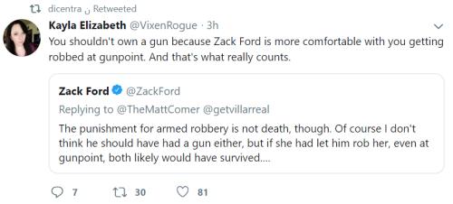 But that poor sweet mugger.