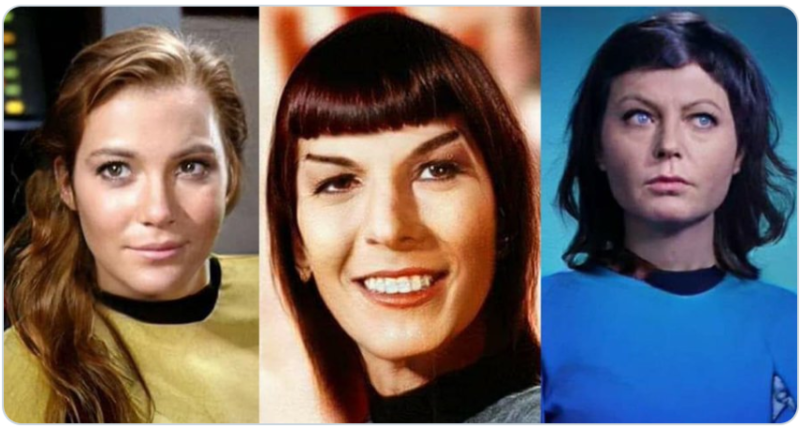 Shatner and the ladies.